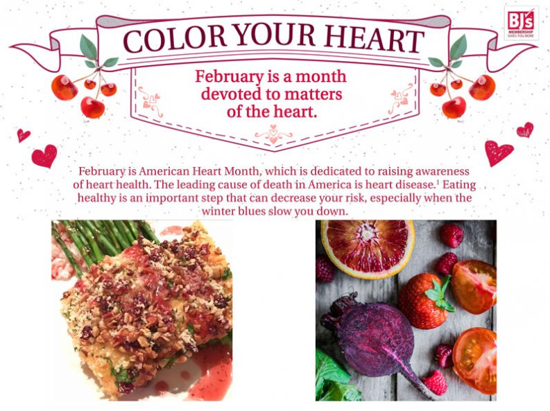 Color your menu color your heart feb is heart month heart healthy food color your menu color your heart forumfinder Choice Image