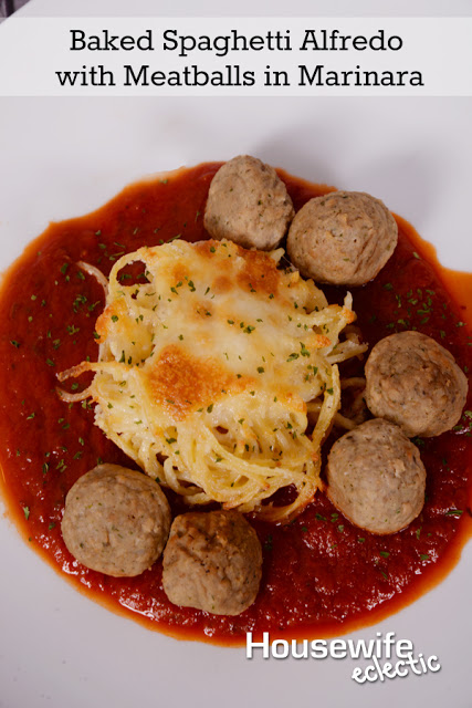Baked Spaghetti Alfredo