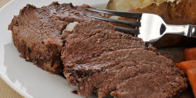 Easy and Delicious Crock-Pot Chuck Roast – Cook once, Five Days of Meals