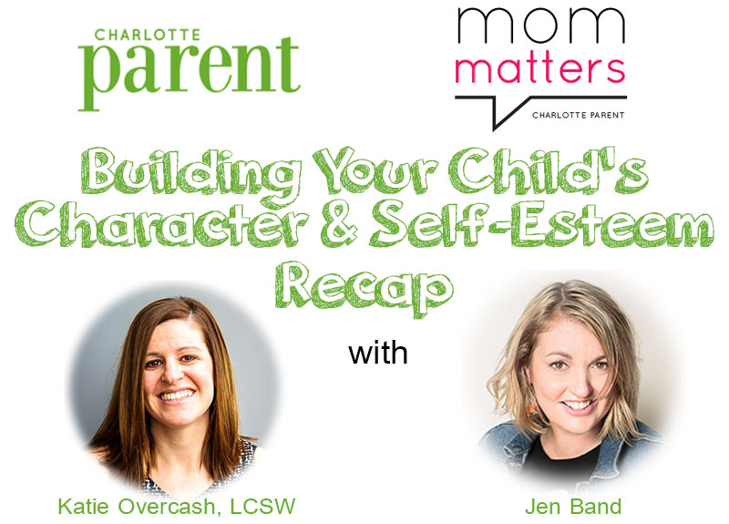 Mom Matters – Building Your Child's Confidence and Self-Esteem