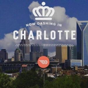 DoorDash now in Charlotte