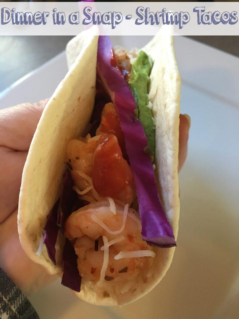 Dinner in a Snap - Shrimp Tacos