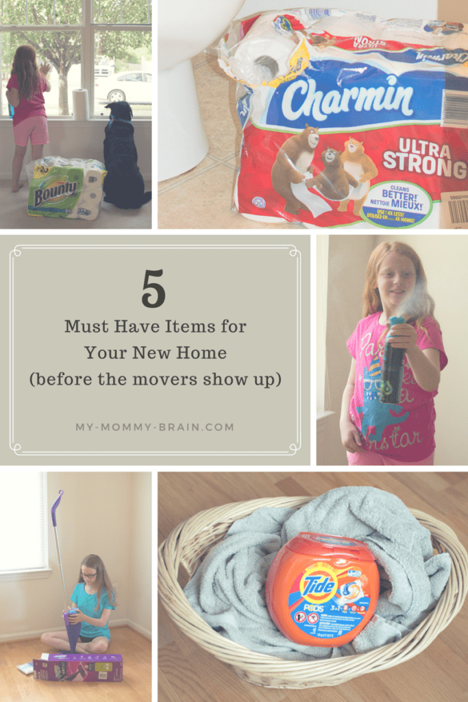 5 Must Have Items for Your New Home (before the movers show up)