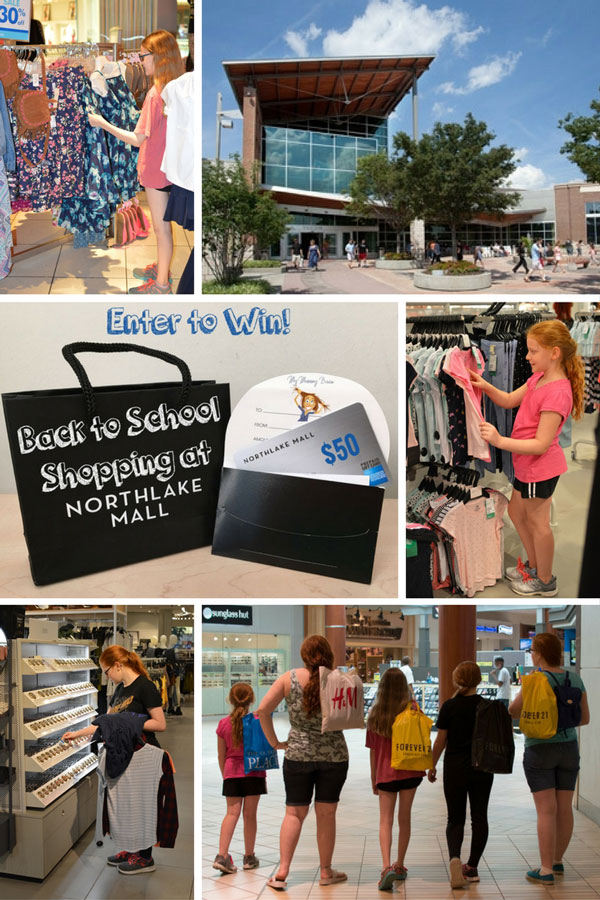 Back to School Shopping at Northlake Mall