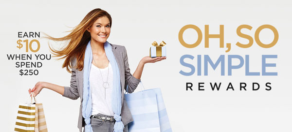 Northlake Mall Oh, So Simple Rewards program