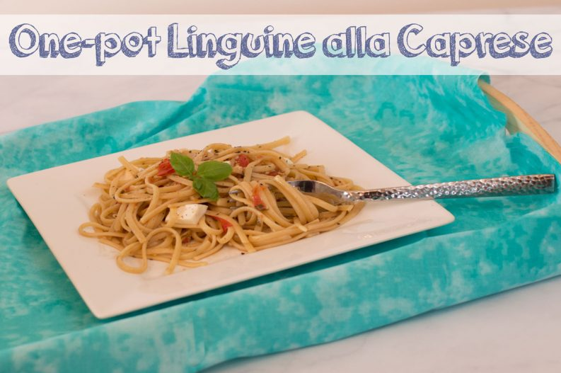 One Pot Linguine alla Caprese