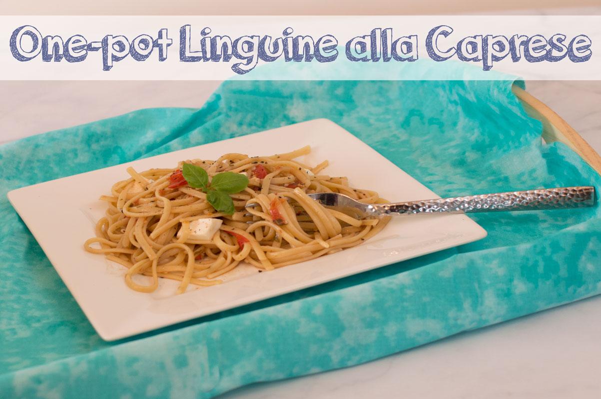One-Pot Linguine alla Caprese