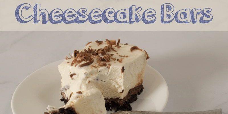 Black-Bottom Cheesecake Bars