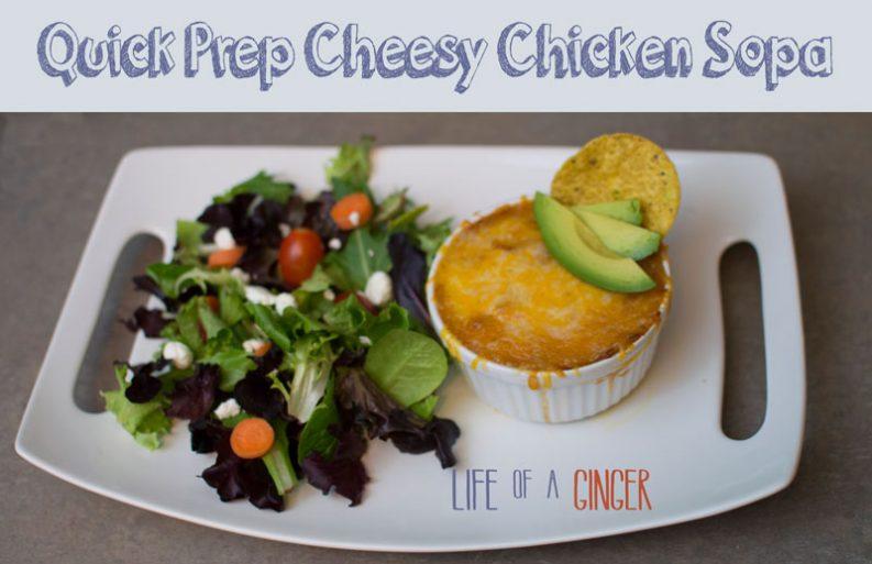 Quick Prep Cheesy Chicken Sopa