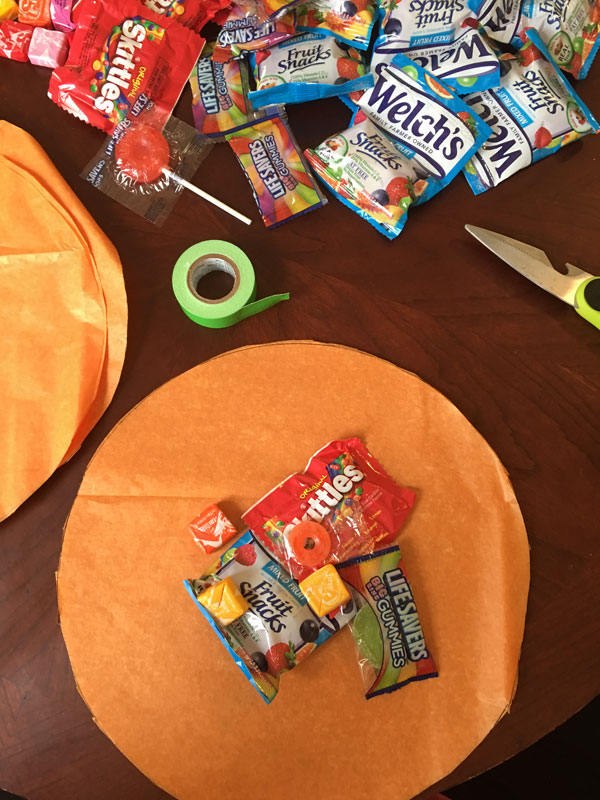 Simple Pumpkin Goody Bags