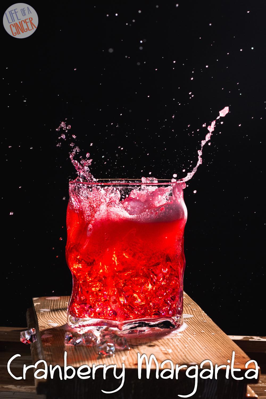 Christmas Cheer Cranberry Margarita