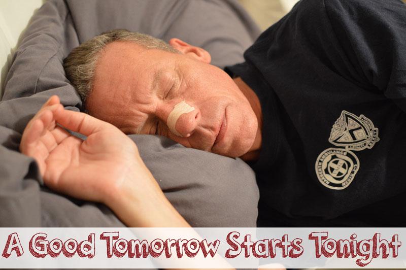 A Good Tomorrow Starts Tonight