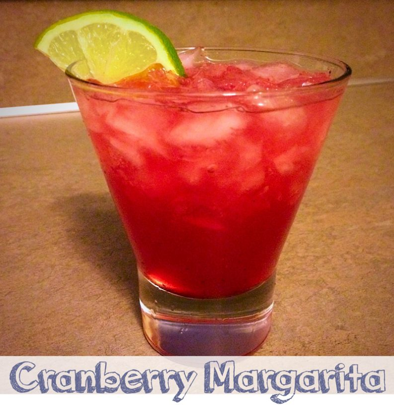 Margarita Monday - Cranberry Margarita [recipe]