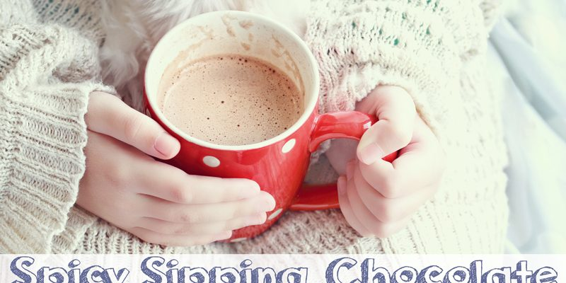 Spicy Sipping Chocolate