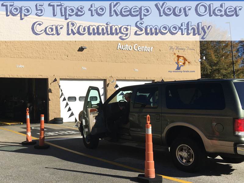 Top 5 Tips to Keep Your Older Car Running Smoothly (so you can make it to Grandma's house for Christmas)