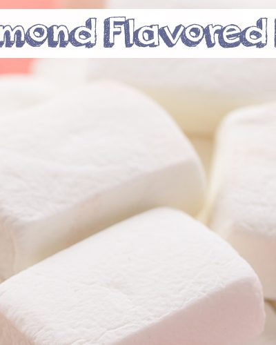 Homemade Almond Flavored Marshmallows