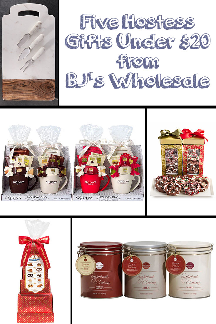 Five hostess gifts under 20 from bj 39 s wholesale life of for Holiday party gift ideas for the hostess