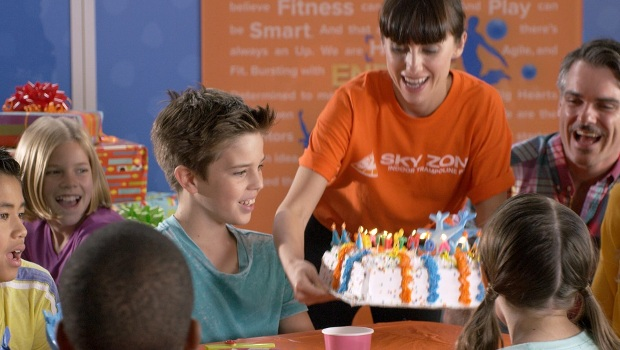 High-Flying Fun Birthday Party at SkyZone