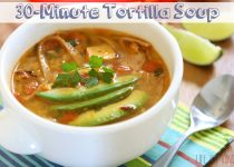 30-Minute Tortilla Soup