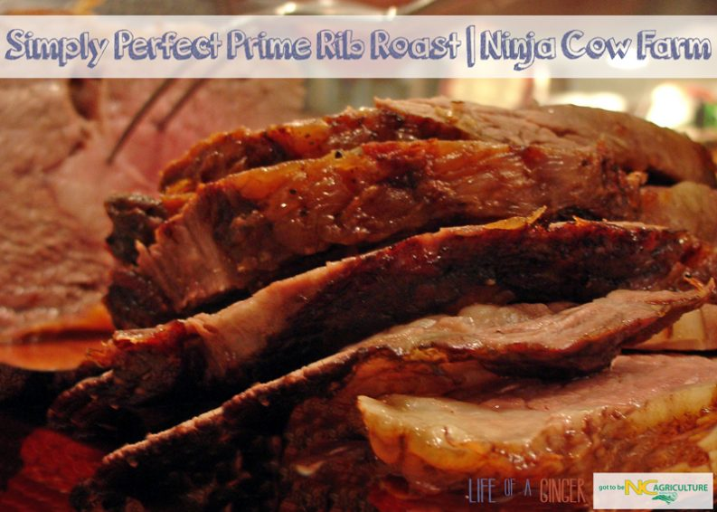 Simply Perfect Prime Rib Roast | Ninja Cow Farm #gottobeNCbeef