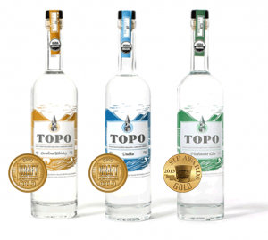 TOPO Organic Spirits Eight Oak Carolina Whiskey