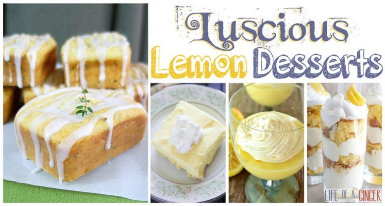 25 Luscious Lemon Desserts
