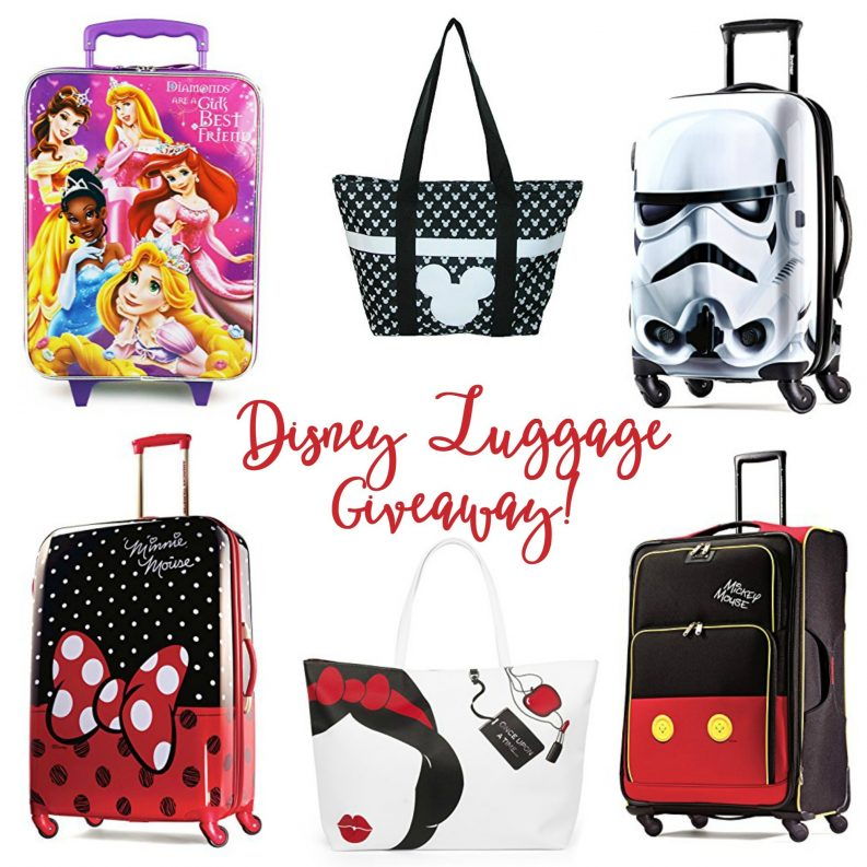 Disney Luggage Giveaway
