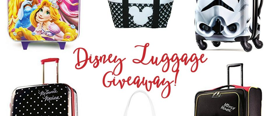 Disney Family Luggage Giveaway