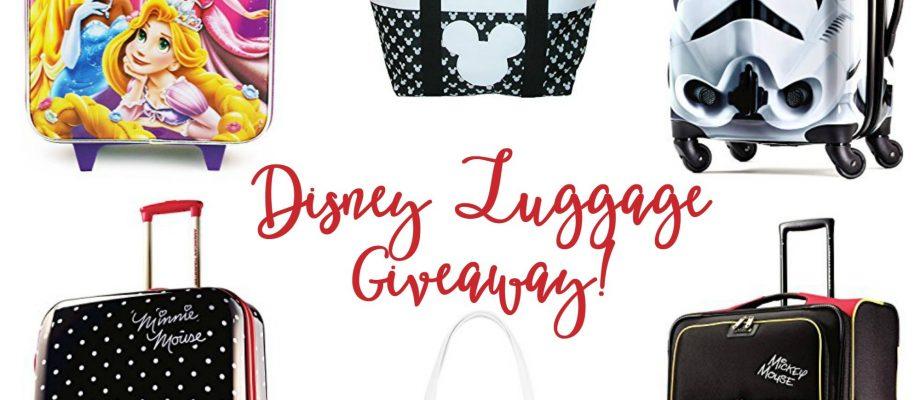 Disney Luggage Giveaway