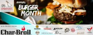 burgermonth 2017