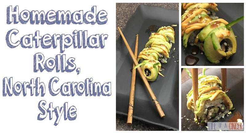 Homemade Caterpillar Rolls, North Carolina Style