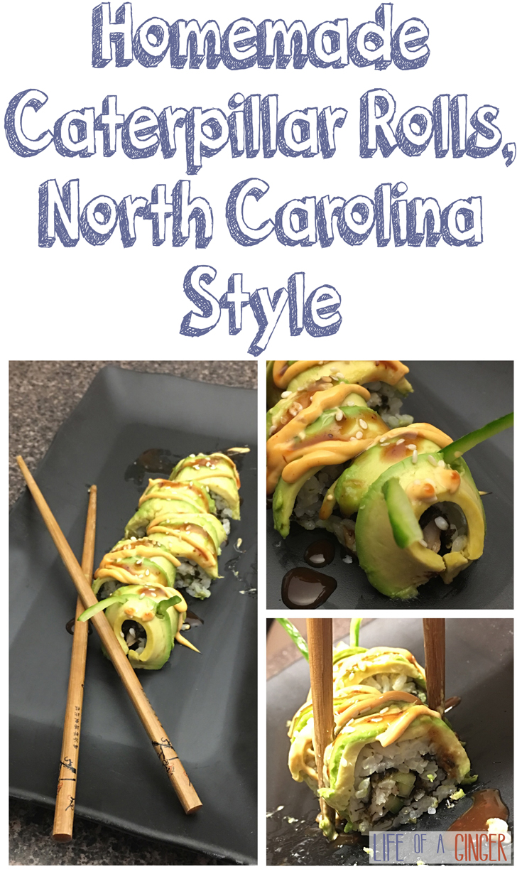 Homemade Caterpillar Rolls, North Carolina Style
