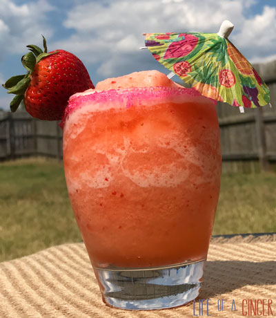 Strawberry Lemonade Mocktail