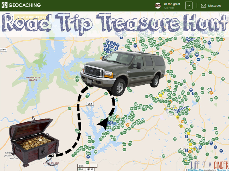 Roadtrip Treasure Hunt