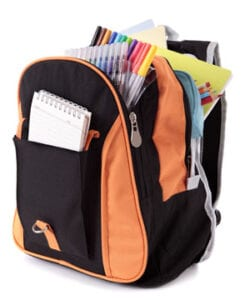 Back-to-School backpack