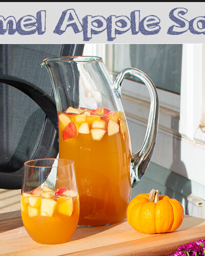 How 'Bout Them Apples [Caramel Apple Sangria recipe]