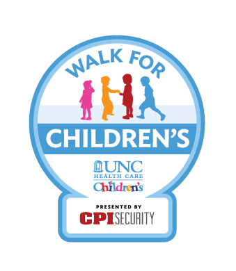 Walk for UNC Children's at Midtown Park in Raleigh on November 4