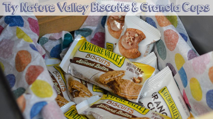 Next Snack Time Think Outside the Bar! Try Nature Valley Biscuits and Granola Cups