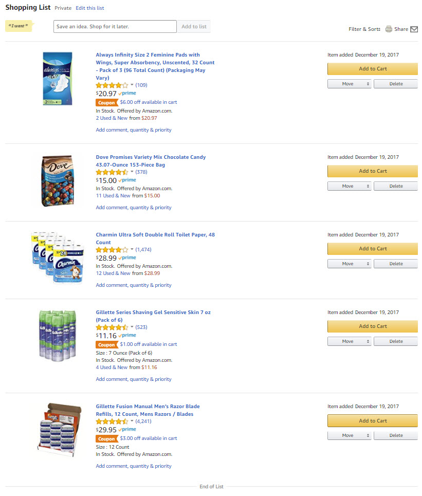 0e3bfa75 Always on my Amazon Shopping List - Life of a Ginger