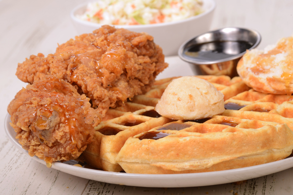 Southern Comfort Food - Chicken and Waffles