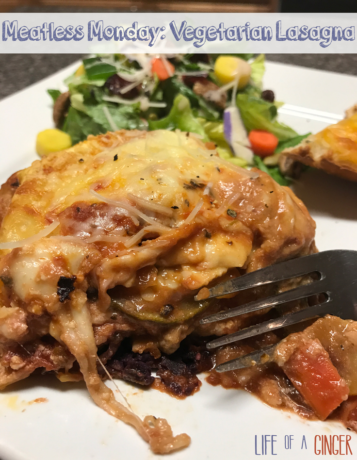 Meatless Monday Featuring The Produce Box: Vegetarian Lasagna via Life of a Ginger