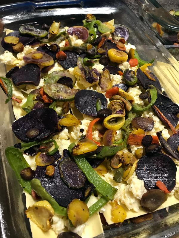 Meatless Monday Featuring The Produce Box: Vegetarian Lasagna
