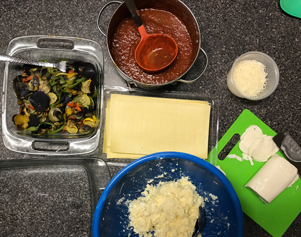 Meatless Monday Featuring The Produce Box: Vegetarian Lasagna