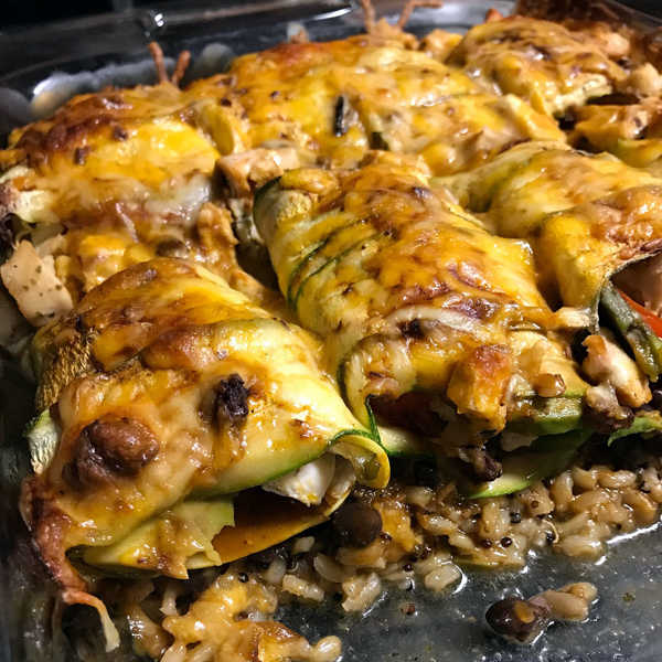 Recipe Rehab Featuring The Produce Box: Chicken Enchiladas