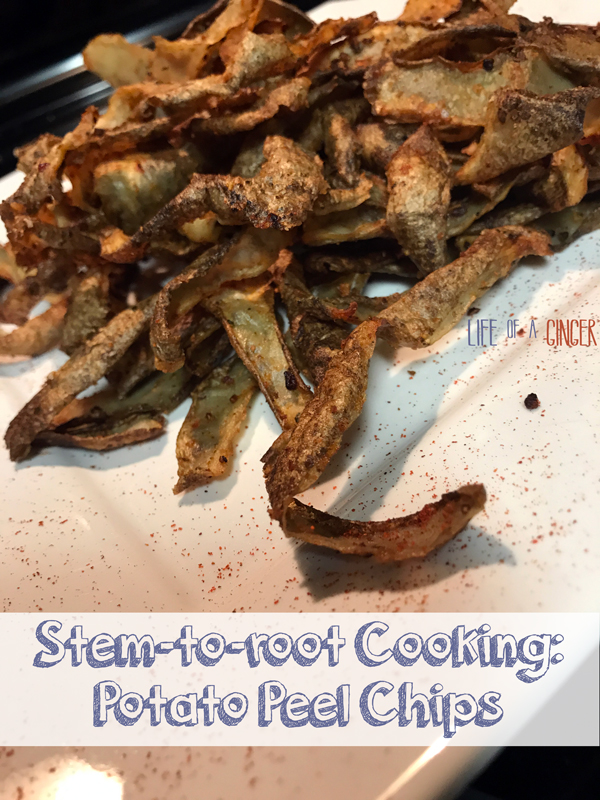 Don't throw that out! Stem-to-root cooking Featuring The Produce Box