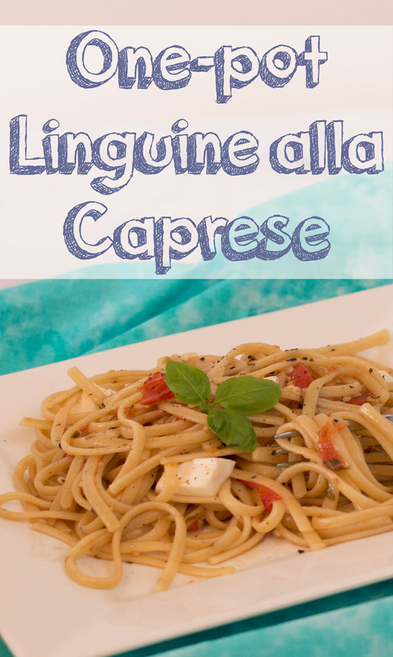 One-Pot Linguine alla Caprese