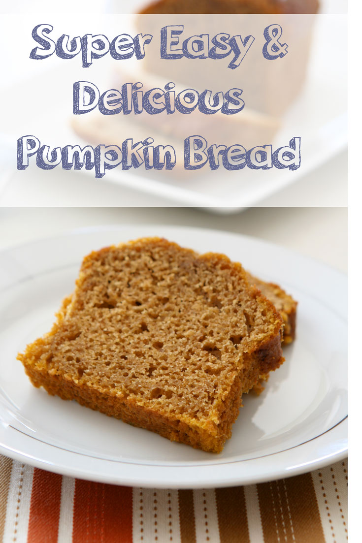 Tasty Tuesday – Super Easy Pumpkin Bread