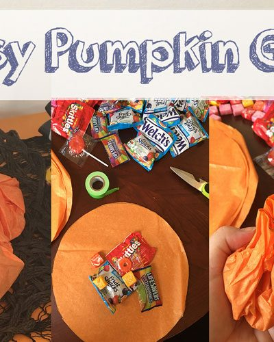 Quick and Easy Pumpkin Goody Bags