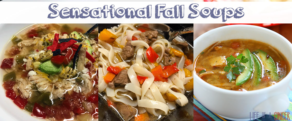 Sensational Fall Soups