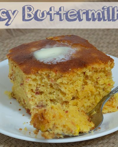 Sweet & Spicy Buttermilk Cornbread